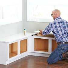 storage bench for kitchen trestle table corner breakfast nook
