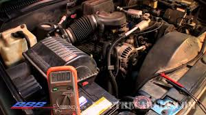 how to test and troubleshoot an alternator problem youtube