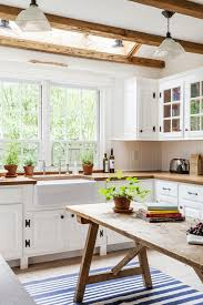 white kitchen cabinets with wood interior 20 amazing solid wood kitchens home interior design