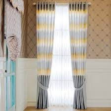 Yellow Stripe Curtains Striped Curtains Panels Horizontal Striped Curtains Vertical