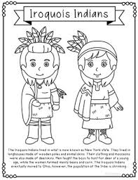 10 american indian tribes coloring pages craft posters native
