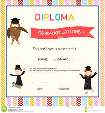preschool graduation certificate template free best and various