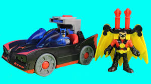 imaginext batmobile with lights imaginext batmobile with lights batman red robin launch at joker