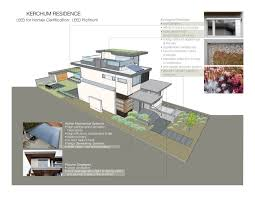 leed home plans house sustainable house plans
