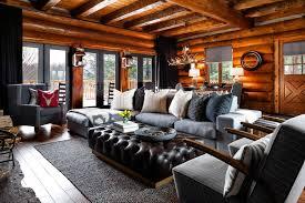 Log Cabin Dining Room Furniture Inspirational Design Log Cabin Living Rooms All Dining Room
