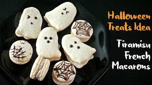 halloween treats idea tiramisu french macarons youtube