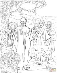 parable of the workers in the vineyard coloring page free