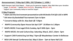 black friday seattle 2017 announcement friday april 28th 2017 shaban 2 1438h muslim