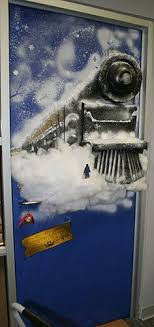 polar express tickets for decor created by painting