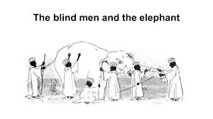 The Blind Men And The Elephant The Blind Men And The Elephant Six Men Eager To Expand Their