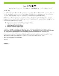 excellent inspiration ideas cover letter for police officer 14