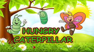 spring songs for children hungry caterpillar with lyrics kids