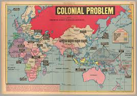 Colonial Africa Map by Colonial Problem Cornell University Library Digital Collections