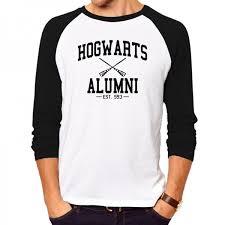 hogwarts alumni t shirt men s fashion shirt hogwarts alumni t shirt sleeve