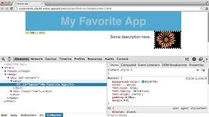 html tutorial udacity intro to html and css more on chrome developer tools youtube