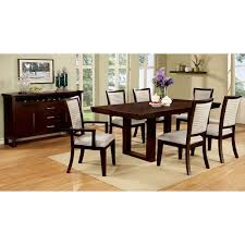 Espresso Dining Room Furniture by Homelegance Avery 7 Piece Dining Set Espresso Hayneedle