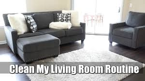 My Livingroom by Clean My Living Room Routine Clean With Me Youtube