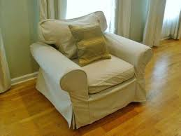 Chair And A Half Slip Cover Pottery Barn Chair Slipcover Ebay