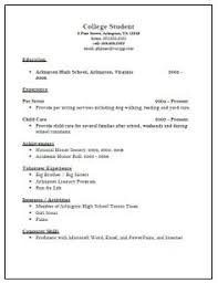 College Activities Resume Template More Resume Examples Sample Of Resume For College Application