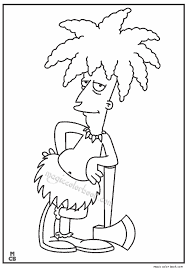 simpsons coloring pages 07