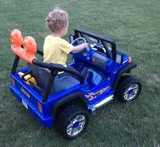 power wheels wheels jeep wrangler 12 volt battery powered ride