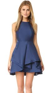 halston heritage high neck structured dress shopbop