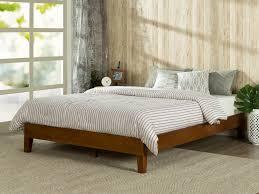 Platform Bed Vs Regular Bed Dimensions Zinus Deluxe Wood Platform Bed U0026 Reviews Wayfair