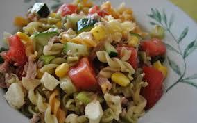 recette salade de pâtes estivale pas chère cuisine étudiant