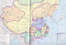 Chinese Map Five Dynasties And Ten Kingdoms Chinese Map Five Dynasties And