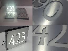 light up address sign the perfect light up address signs