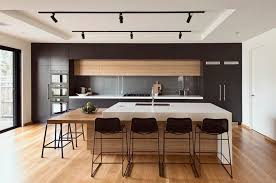 what is the best wood for white kitchen cabinets 20 modern black and white kitchens that used wood home