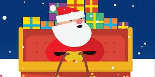 use s santa tracker to follow his trip