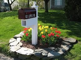 Landscaping Ideas Simple Mailbox Landscaping Ideas Design Ideas U0026 Decors
