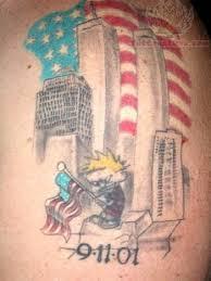 patriotic america attack tattoo