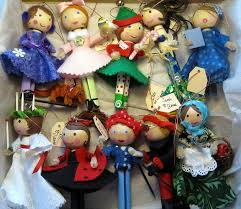 clothespin doll ornaments dianne faw