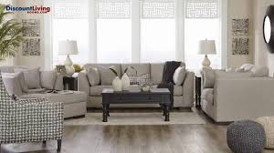 living room collections lainier living room collection by ashley youtube
