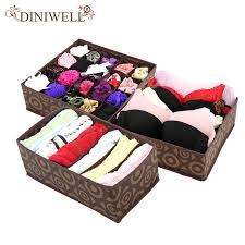 underwear organizer diniwell nonwoven home storage box underwear organizer boxs bra