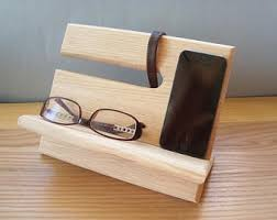 Diy Nightstand Charging Station Phone Valet Etsy