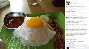 membuat nasi goreng cur telur nasi lemak telur mata freemason