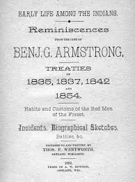 benjamin green armstrong chequamegon history