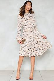 flower dress floral dress shop clothes at gal