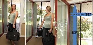 Patio Door Magnetic Screen Magnetic Patio Door Screen Outdoor Goods