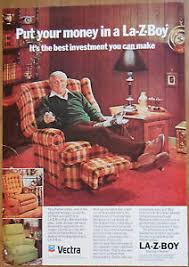 Vintage Recliner Chair 1976 Vintage Ad La Z Boy Reclining Chair For Father U0027s Day Ebay