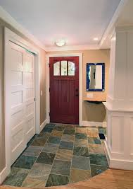 sliding closet doors entry traditional with column entrance foyer