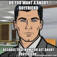 Angry Boyfriend Meme - angry boyfriend meme info