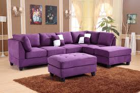Purple Sectional Sofa Purple Sectional Sofa Home Design And Decor