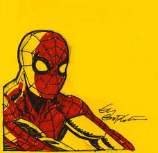 unseen spider man and my largest drawing ever ty templeton u0027s