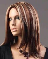 layered highlighted hair styles long medium length brown hair with blonde highlights to add to