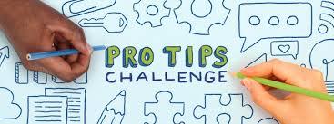 Challenge Tips Pro Tips Challenge