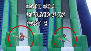 cape cod inflatable park part 2 megaendo youtube